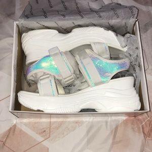 Halo Sequin Sandals